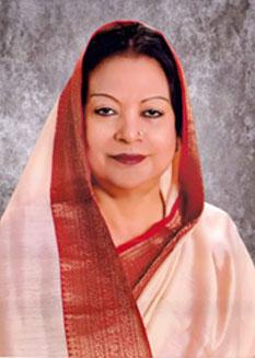 Mayor Hasina Gazi